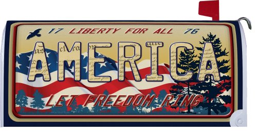 Patriotic Mailwraps 174 And Other Magnetic Mailbox Covers