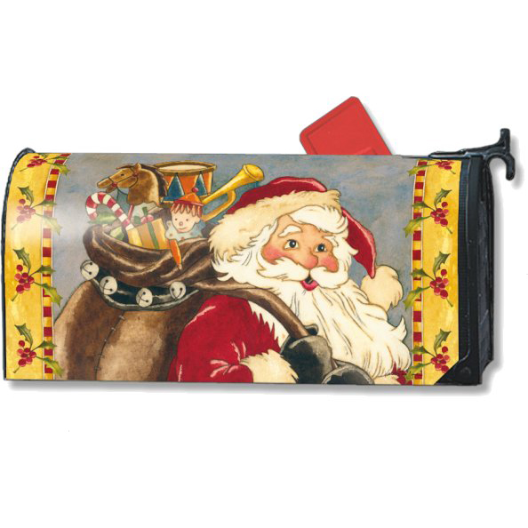 santas forest st nick mailbox cover