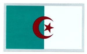Algeria Flag Crw