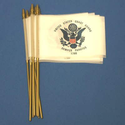 [Coast Guard Economy Plastic flags]