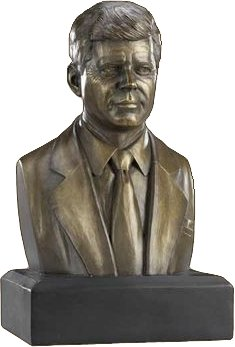 sculpured busts of famous individuals in american history