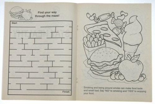 Be Smart, Say No To Smoking (CB130) Educational Coloring