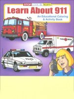 Learn About 911 educational coloring book