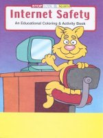 Internet Safety educational coloring book