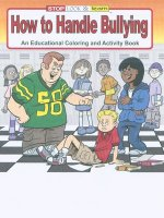 How To Handle Bullying educational coloring book