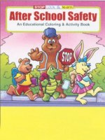 After School Safety educational coloring book