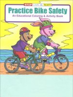 Practice Bike Safety educational coloring book