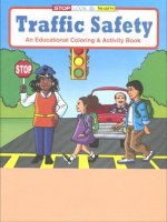Traffic Safety educational coloring book