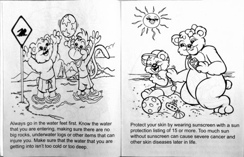 Pool And Water Safety CB296 Educational Coloring Books CRW