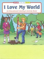 I Love My World educational coloring book