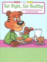 Eat Right, Eat Healthy educational coloring book