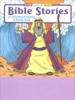 Bible Stories educational coloring book