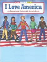 I Love America educational coloring book