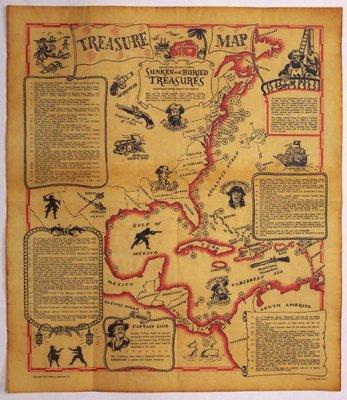 Parchment Historical Documents CRW Flags Store In Glen Burnie - Parchment paper map of us
