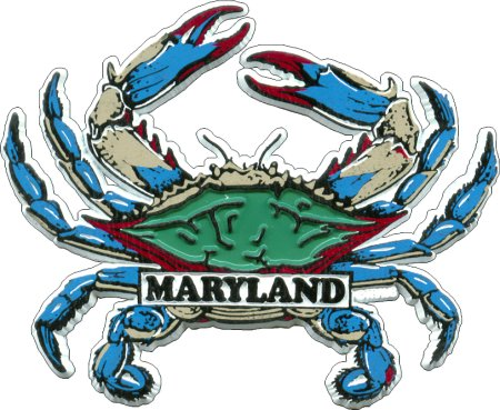 Maryland Souvenir Magnets Lg Crw Flags Store In Glen