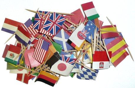 Brazil Flag Toothpicks