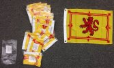 12x18 Scotland Lion poly flag with grommets