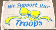 3x5' nylon We Support Our Troops