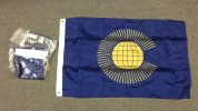 Nylon Commonwealth of Nations 1976-2013 flags