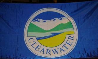 [flag of Clearwater Municipal District]