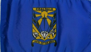 [flag of Coaldale]