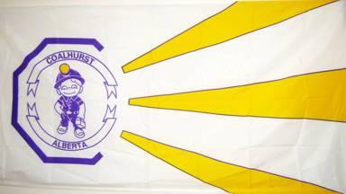 [flag of Coalhurst]