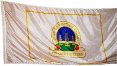 [flag of Drayton Valley]
