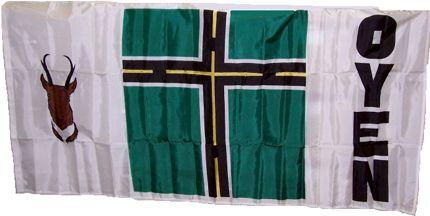 [flag of Oyen]