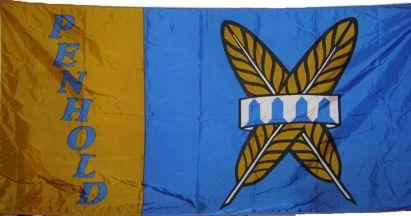 [flag of Penhold]