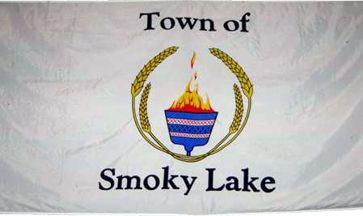 [flag of Smoky Lake]