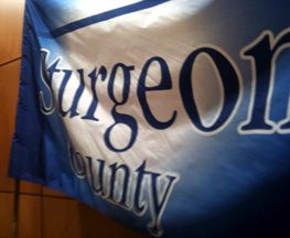 [flag of Sturgeon County]