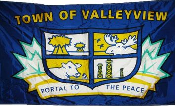 [flag of Valleyview]