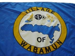 [flag of Wabamun]