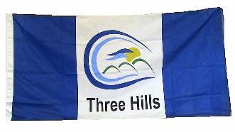 [flag of Three Hills]