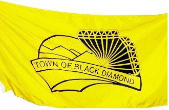 [flag of Black Diamond]