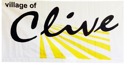 [Clive flag]