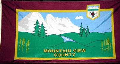 [flag of Mountain View County]