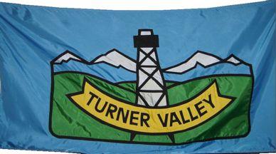 [flag of Turner Valley]
