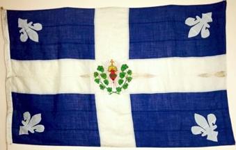 Quebec - Patriotic flag before 1900 (Canada)