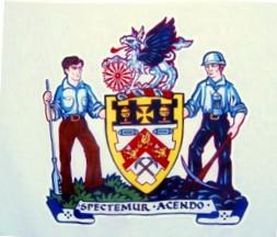 [Flag of Barnsley Metropolitan Borough, England]