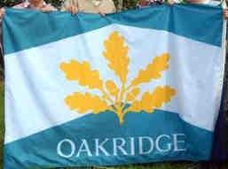 [Flag of Oakridge ]