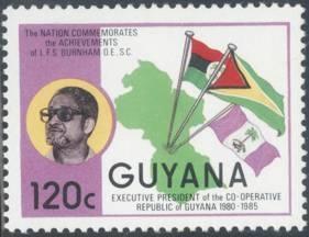 Guyana Presidential Flag