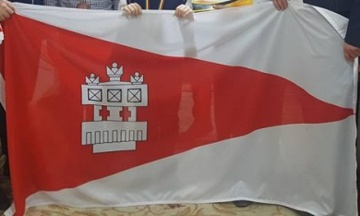 [flag of Criuleni]