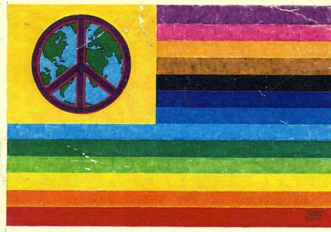 Peace Sign Flag (Campaign for Nuclear Disarmament)