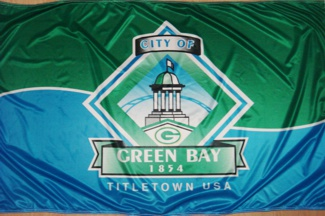 Image result for green bay city flag